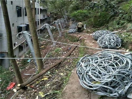 华亭主动防护网工期短