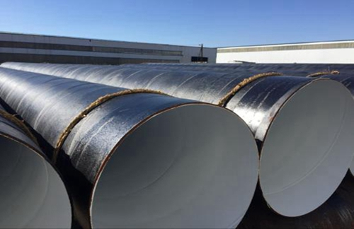 依兰4油3布防腐螺旋管生产厂家