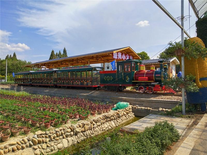 孟津无轨道观光火车适合旅游区的