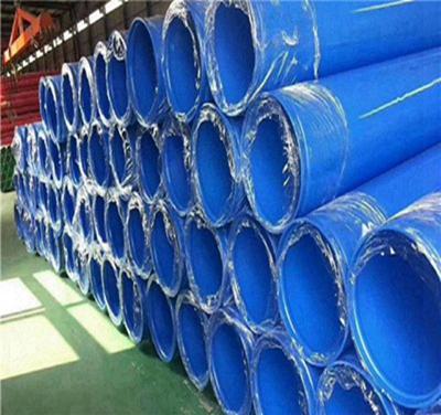 嘉峪关市法兰连接内外涂塑复合钢管厂家规格型号介绍
