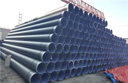 舒兰自来水厂专用防腐螺旋管工艺