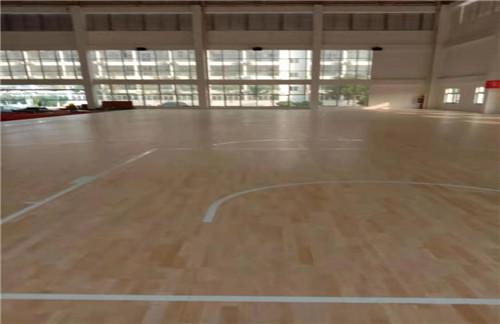 寧陜體育運動木地板多圖