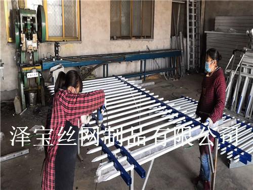 漳平市河道锌钢护栏安装费用