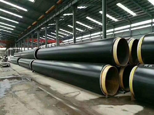 雄县钢套钢蒸气保温管生产加工