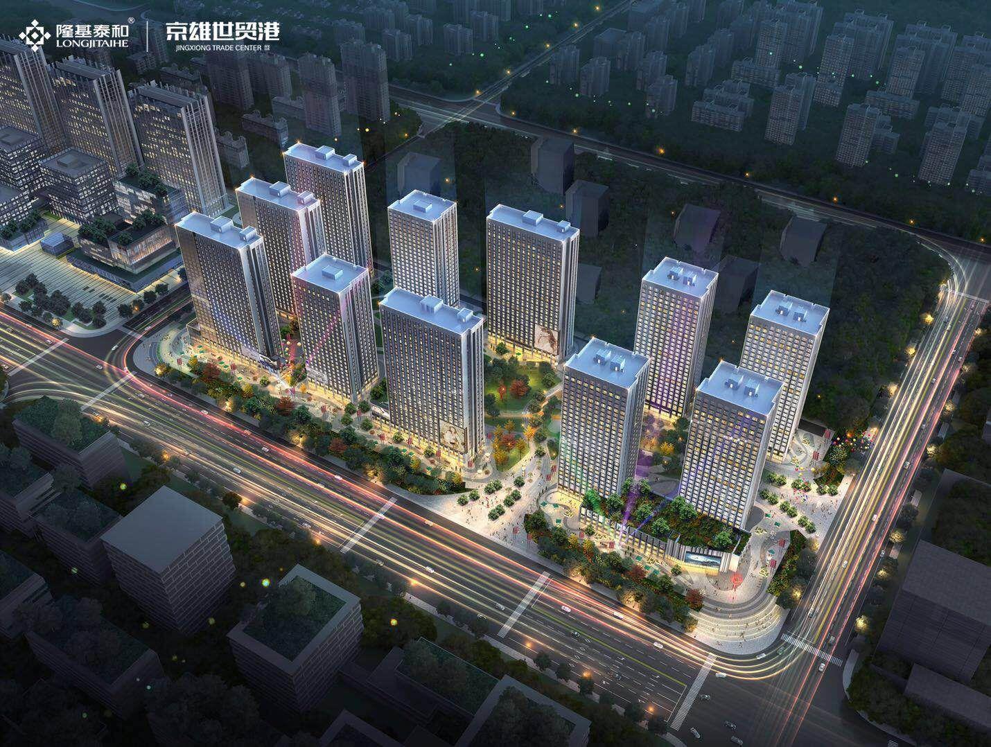 河北京雄世贸港活力谷项目交通便