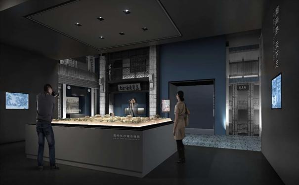湖南长沙展览设计 展厅设计 多媒体互动装置—美创数字图片