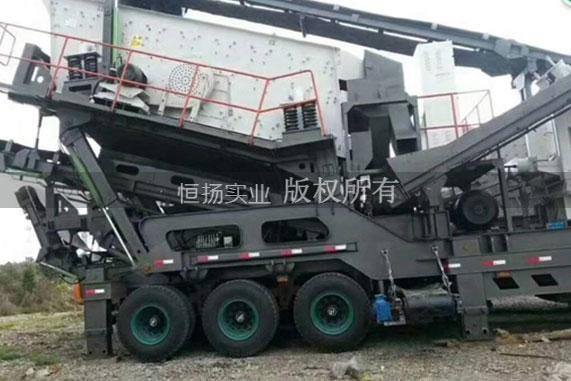 献县移动建筑垃圾破碎筛分机在哪