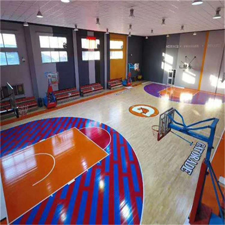 岚皋篮球场专用地板诚信至上