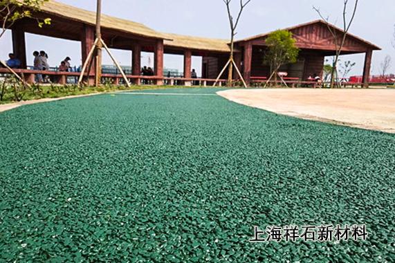 上海宝山区彩色透水混凝土